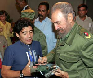 Fidel-Maradona